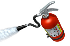 Fire-extinguishers certification